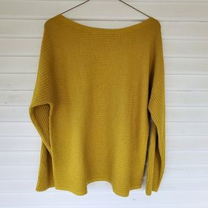 Eileen Fisher - Yellow Knit Sweater NWOT